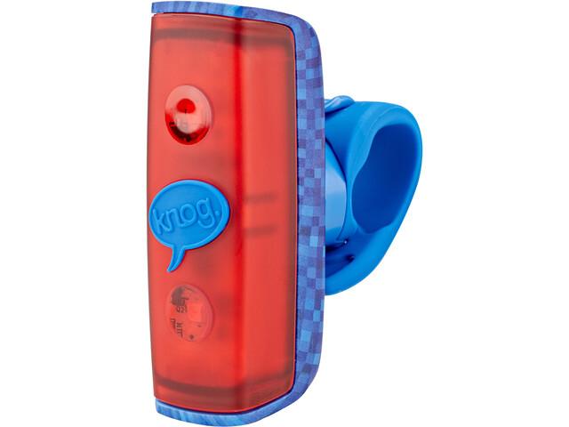 Knog POP r Éclairage vélo 1 LED rouge standard, dark blue